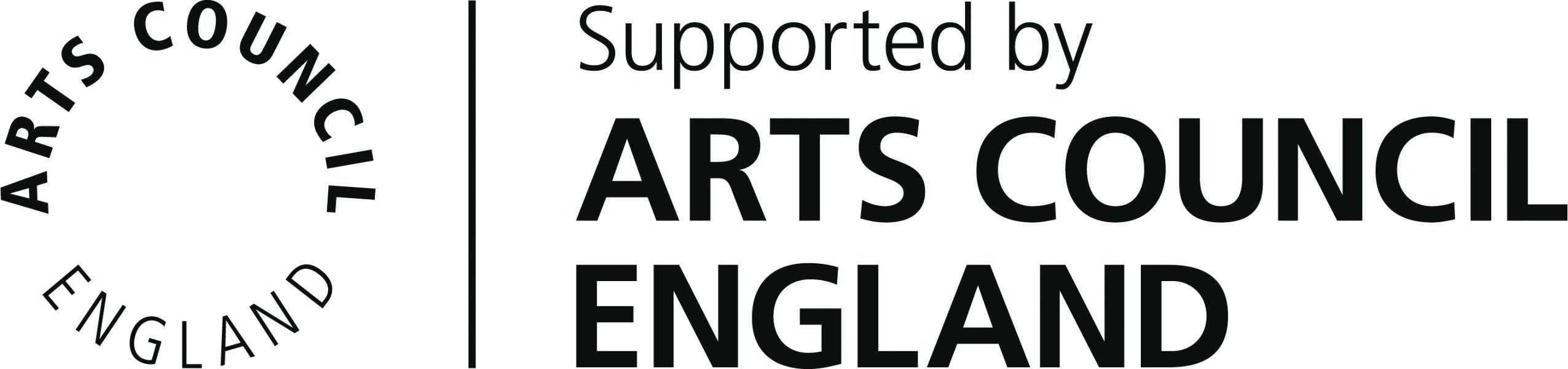 Image of Arts Council England logo