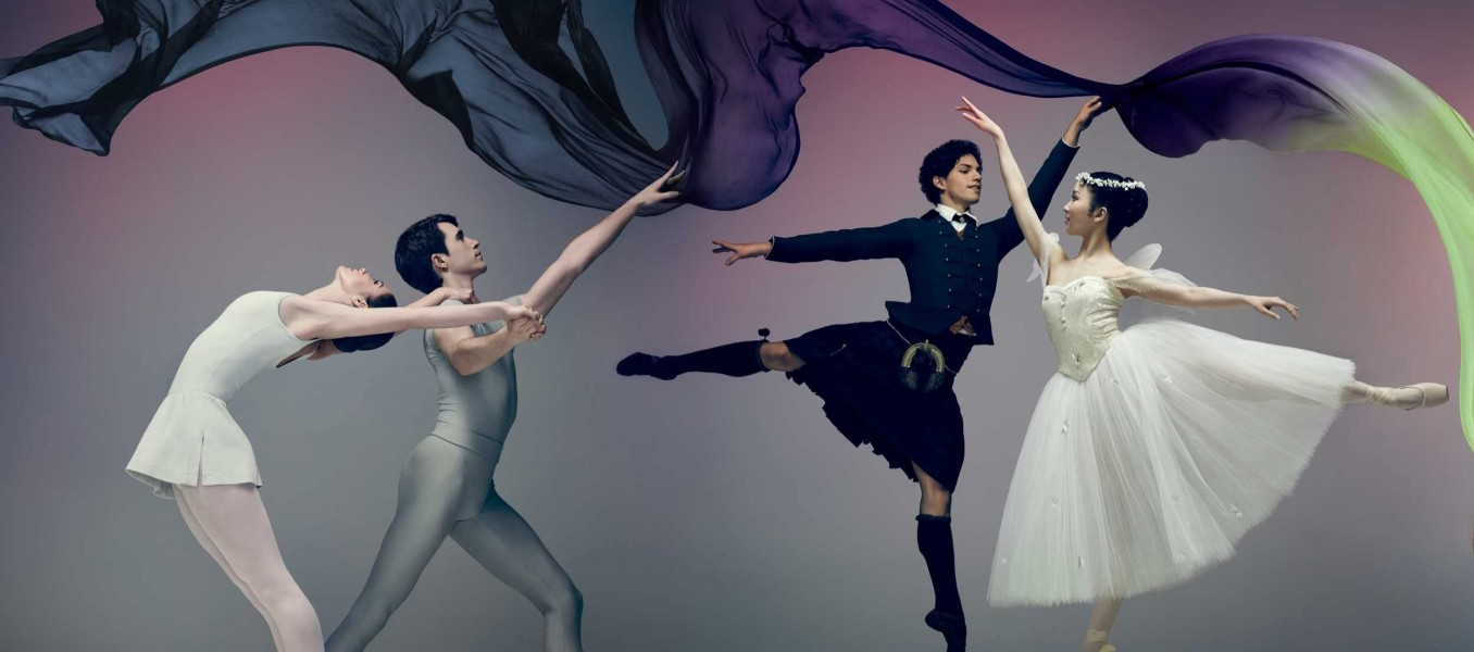 Image of Song of the Earth and La Sylphide Poster Imagery