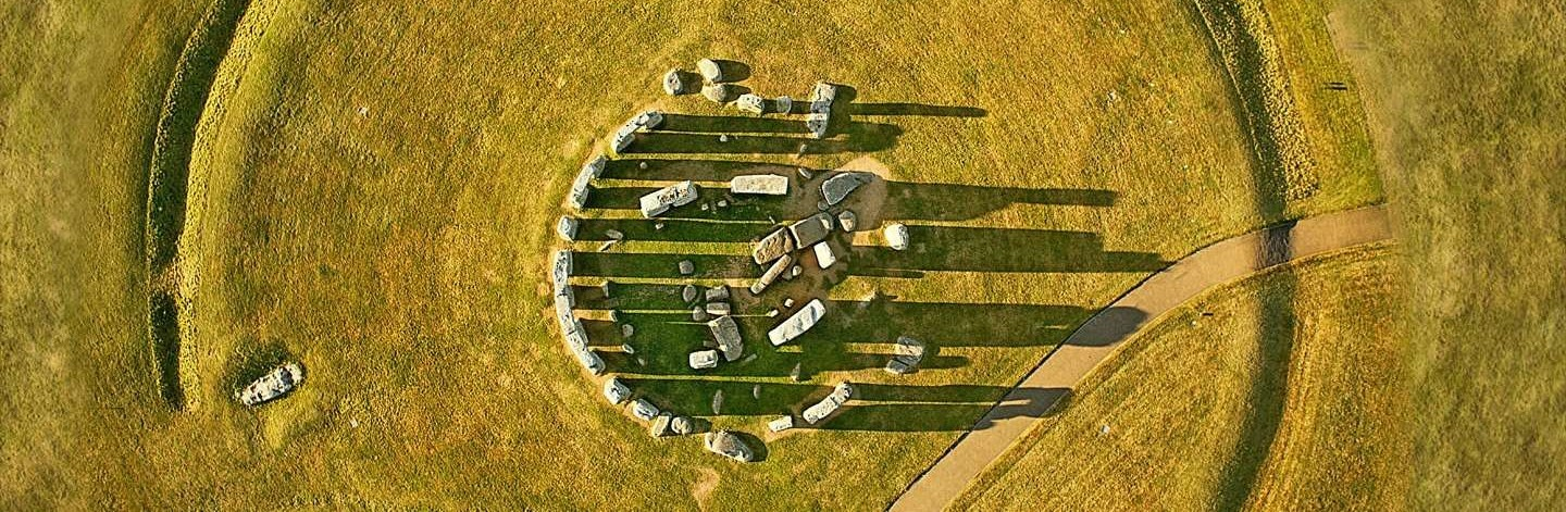 Image of Stonehenge aerial view