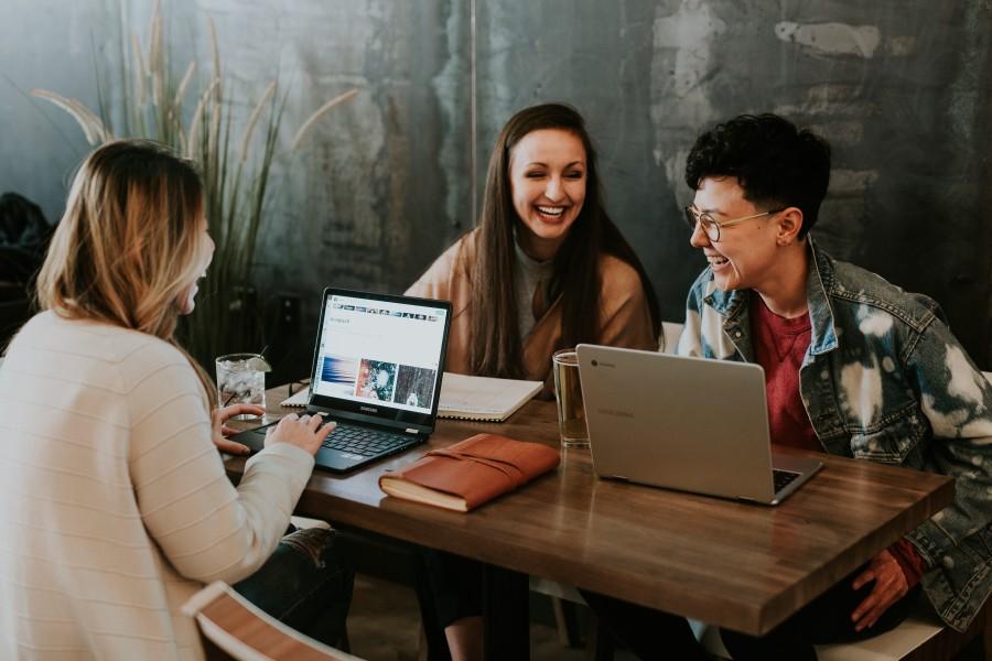 Image of Women on laptops
