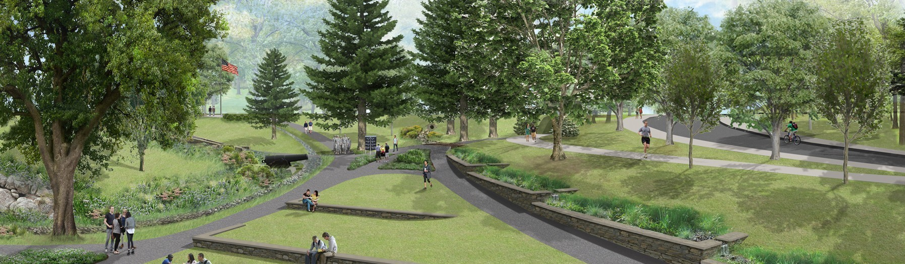 Image of CAD model park