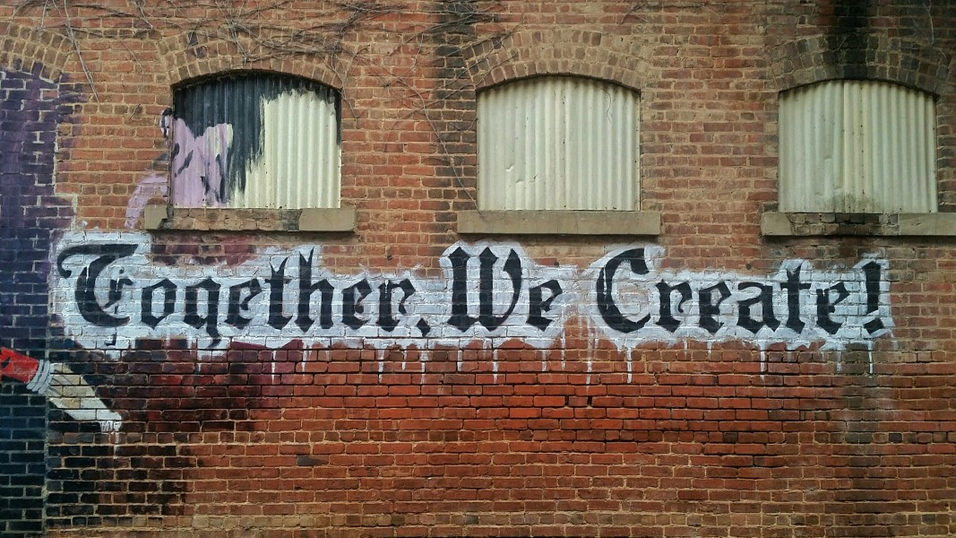 Image of Together We Create graffiti