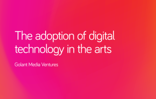 Image of Report | The adoption of digital technology in the arts