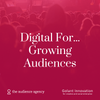 Photo of Digital For … Growing Audiences